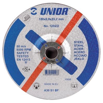 Disc de polizare cu gaura micsorata, pentru otel - 1202/2